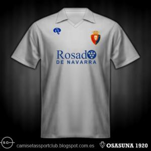 La mejor camiseta de la historia de Osasuna, según vuestros votos