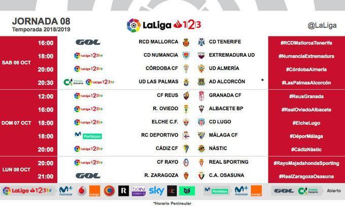 El infumable horario del partido Zaragoza - Osasuna