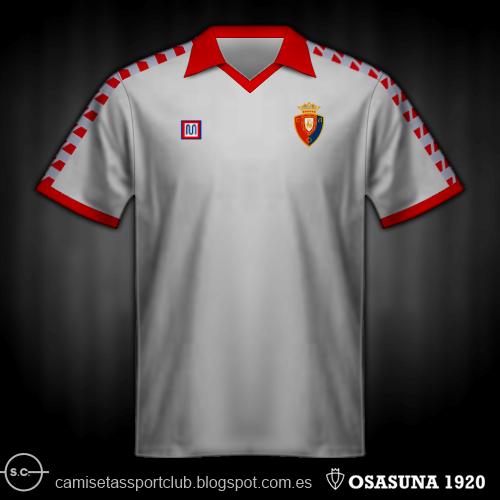 Camisetas históricas de Osasuna