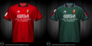Camisetas de Osasuna