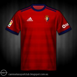 Camiseta Osasuna 2017-2018
