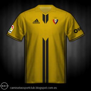 Segunda equipación Osasuna 2017-2018