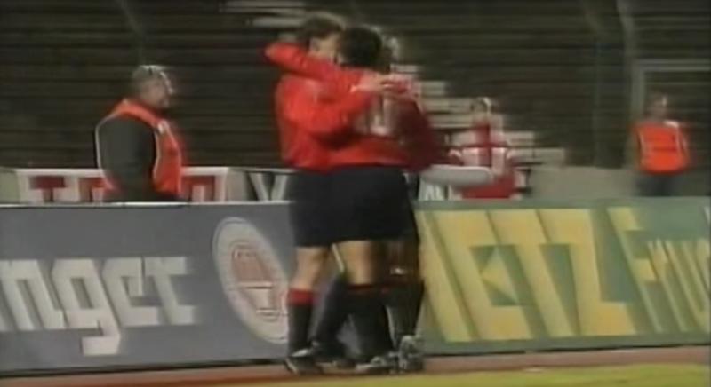 Stuttgart 2-3 Osasuna (1991)