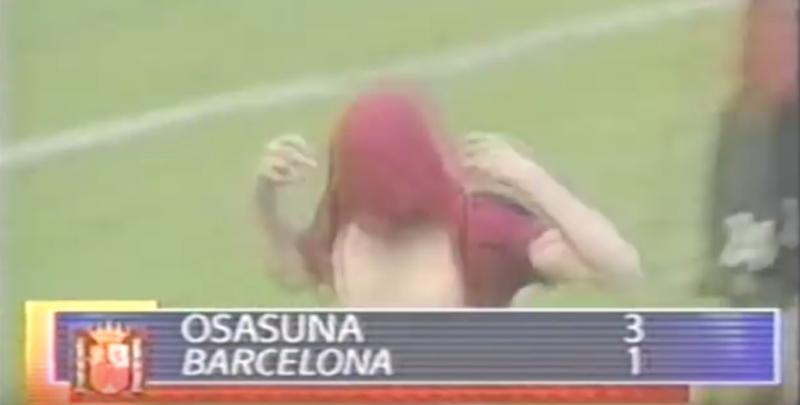 Osasuna 3-1 Barcelona en El Sadar (2001)