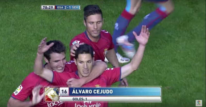 Gol de Cejudo al Sevilla (2013)