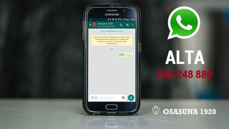 Recibe las últimas noticias de Osasuna 1920, en Whatsapp