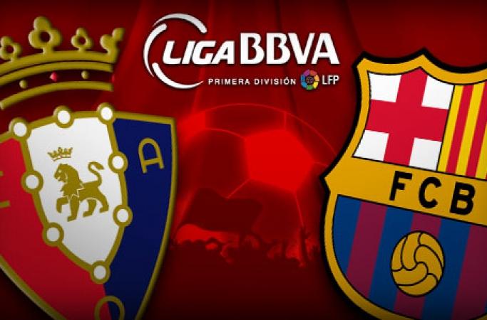 Todos los goles del Osasuna-Barcelona (0-3)