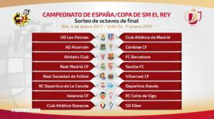 Octavos de final Copa del Rey