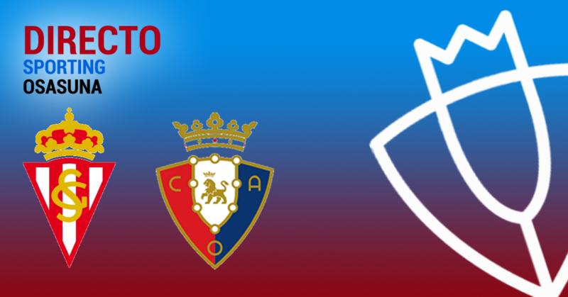 En directo, el Sporting-Osasuna