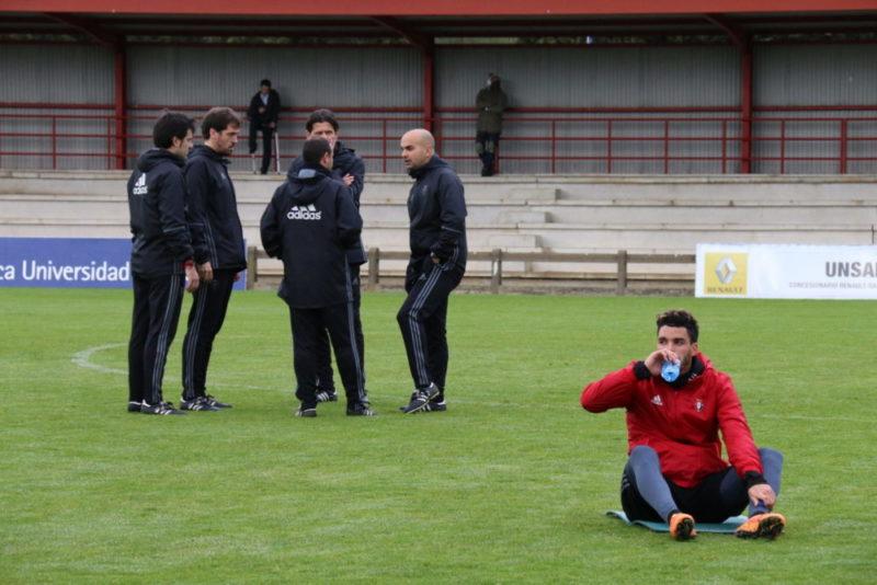 Siete jugadores se quedan en Pamplona y no viajarán a Eibar