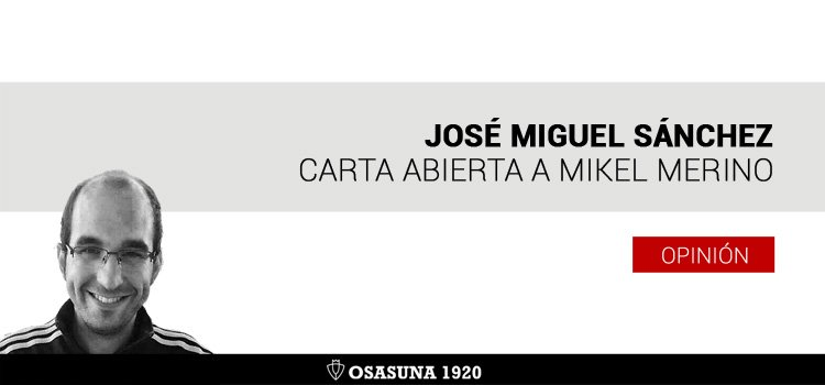 Carta abierta a Mikel Merino