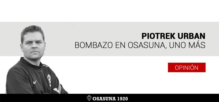 Bombazo en Osasuna, uno más
