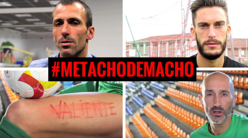 """Patxi Puñal, Roberto Torres, Javi Eseverri...: """"Me tacho de macho"""""""