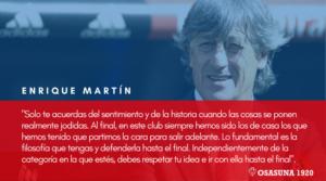 Enrique Martin frase