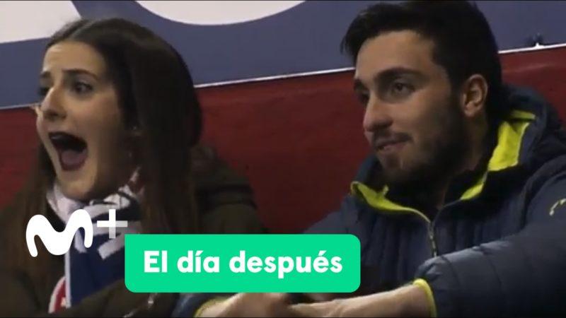 Cuando vas a El Sadar con tu pareja... ¡y a ella le gusta el Real Madrid!