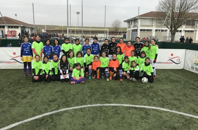Osasuna celebrará el primer Torneo Interescolar Femenino