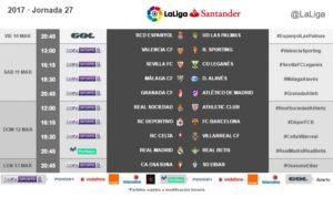 jornada 27 liga
