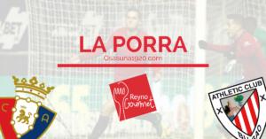 Osasuna-Athletic Porra Reyno Gourmet