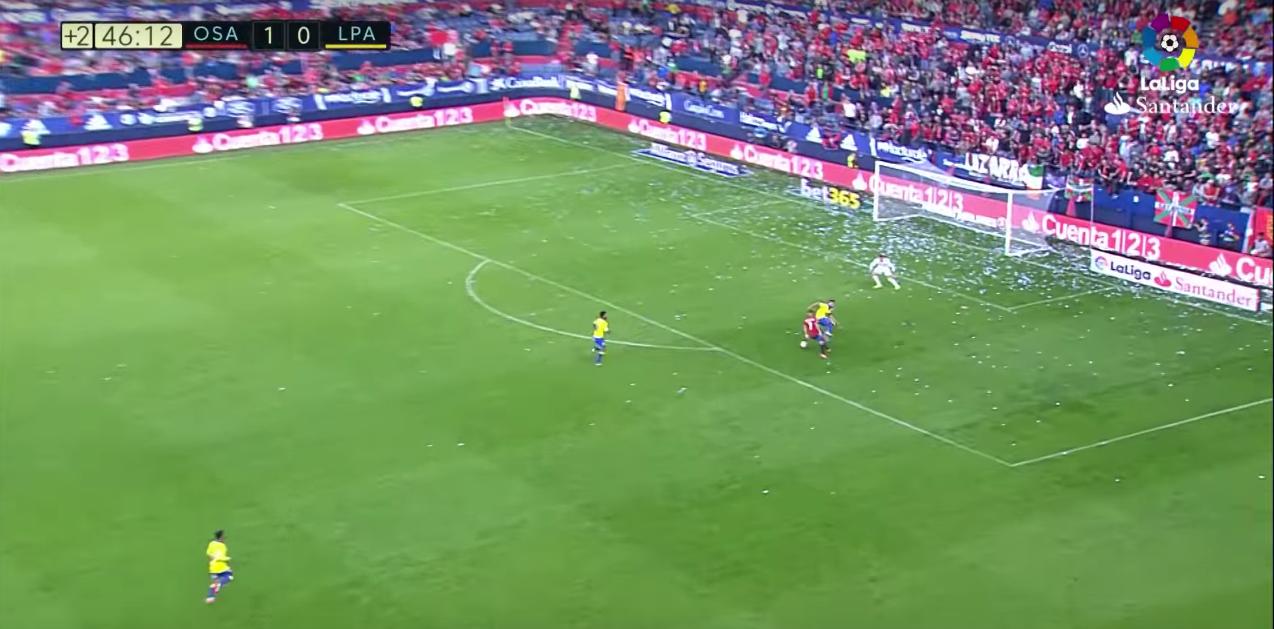 El precioso gol de Sergio León con Osasuna contra la UD Las Palmas