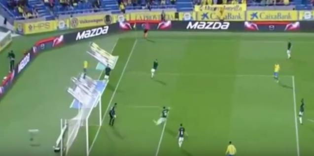 El escandaloso gol en propia puerta de Unai García contra la UD Las Palmas