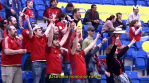 Afición Osasuna Las Palmas