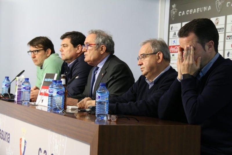 La directiva de Osasuna anuncia una asamblea extraordinaria el 11 de abril para convocar elecciones