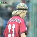Osasuna 3-1 Real Madrid (2001-2002): vaselina de Alfredo y volea de Iván Rosado