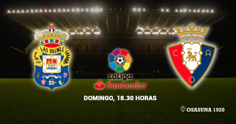 Esta es la alineación de Osasuna contra la UD Las Palmas