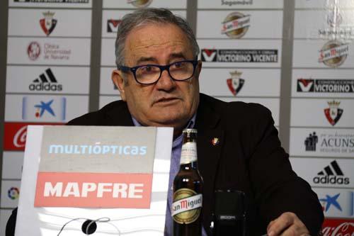 Luis Sabalza anuncia que se presentará a las elecciones