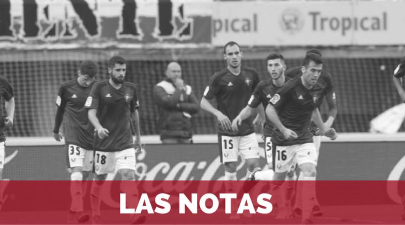 Notas: Las Palmas - Osasuna