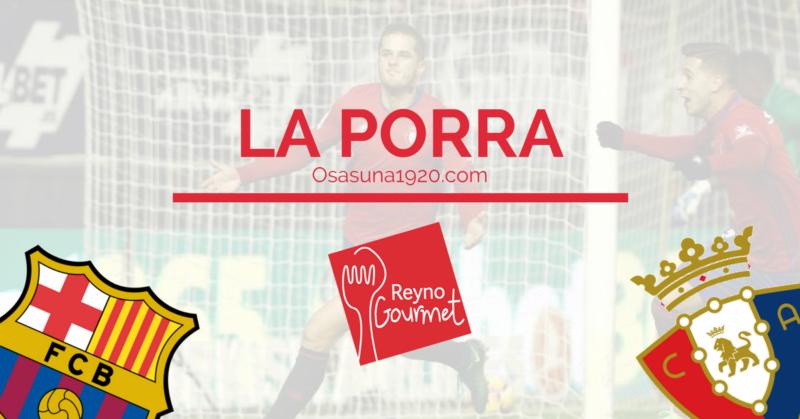 Rellena ya tu pronóstico para el Barça-Osasuna de la Porra Reyno Gourmet