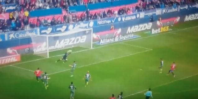 El gol de Sergio León que reivindica su titularidad en Osasuna