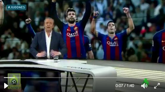 Josep Pedrerol critica duramente a Vasiljevic por su palabras en la previa contra el Barça