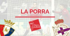 Osasuna Deportivo Porra