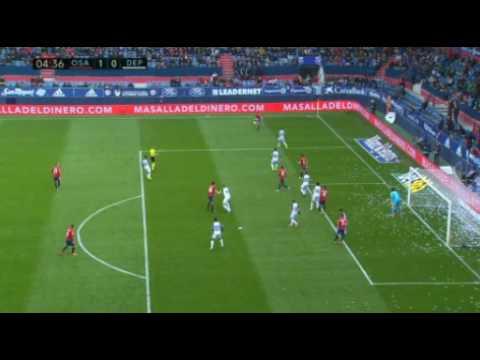 Así fue el gol de Jhon Steven contra el Deportivo