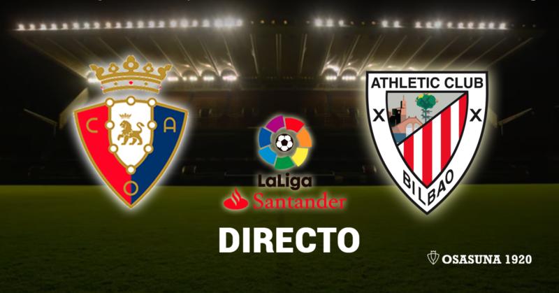 (1-2) El Osasuna-Athletic, en vivo y en directo online