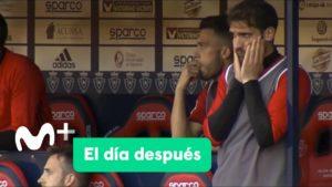 Puñetazos en el banquillo: así vivió Fausto el empate del Sporting