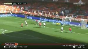 Olavide gol Valencia