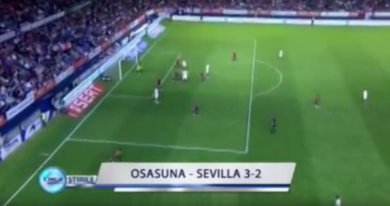 Hace 6 años, Osasuna conseguía la mayor de las remontadas contra el Sevilla (3-2)