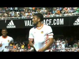 Así fue el gol de Olavide contra el Valencia, el primero en Primera División