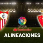 Esta es la alineación de Osasuna contra el Sevilla