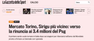 Sirigu Torino Seria A