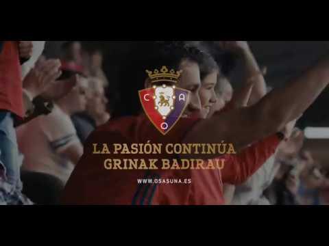 'La pasión continúa', el emotivo spot de la campaña de abonados de Osasuna