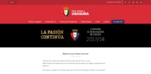 Campaña de Abonados de Osasuna