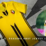 La segunda equipación de Osasuna recuerda a la del Borussia