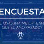 ENCUESTA | ¿Tiene Osasuna mejor plantilla que el año pasado?