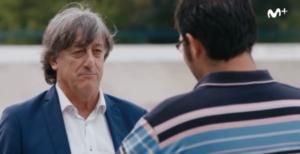 Enrique Martín ayuda al Berriz