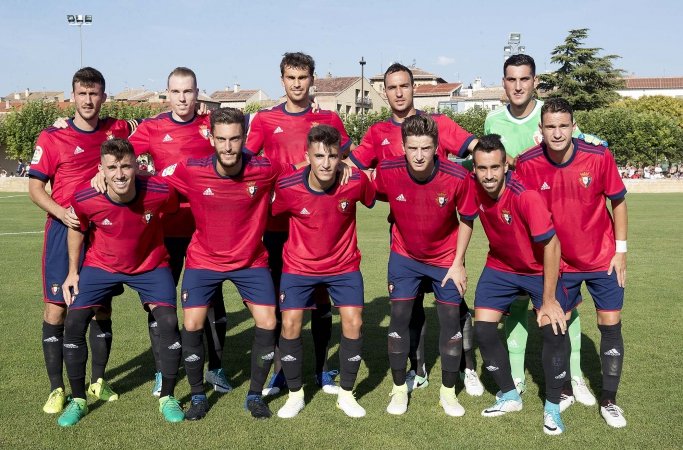 Osasuna gana al Burgos (2-0) en el primer amistoso de la pretemporada