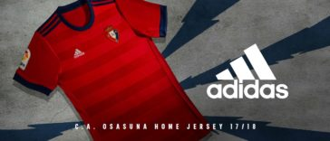 Osasuna Camiseta 2017-2018