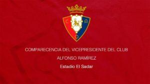 Osasuna explica los motivos de la ruptura de relaciones con el Athletic